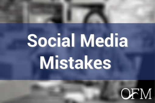 5 Social Media Mistakes that Small Businesses Make